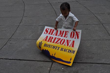 Shame on Arizona