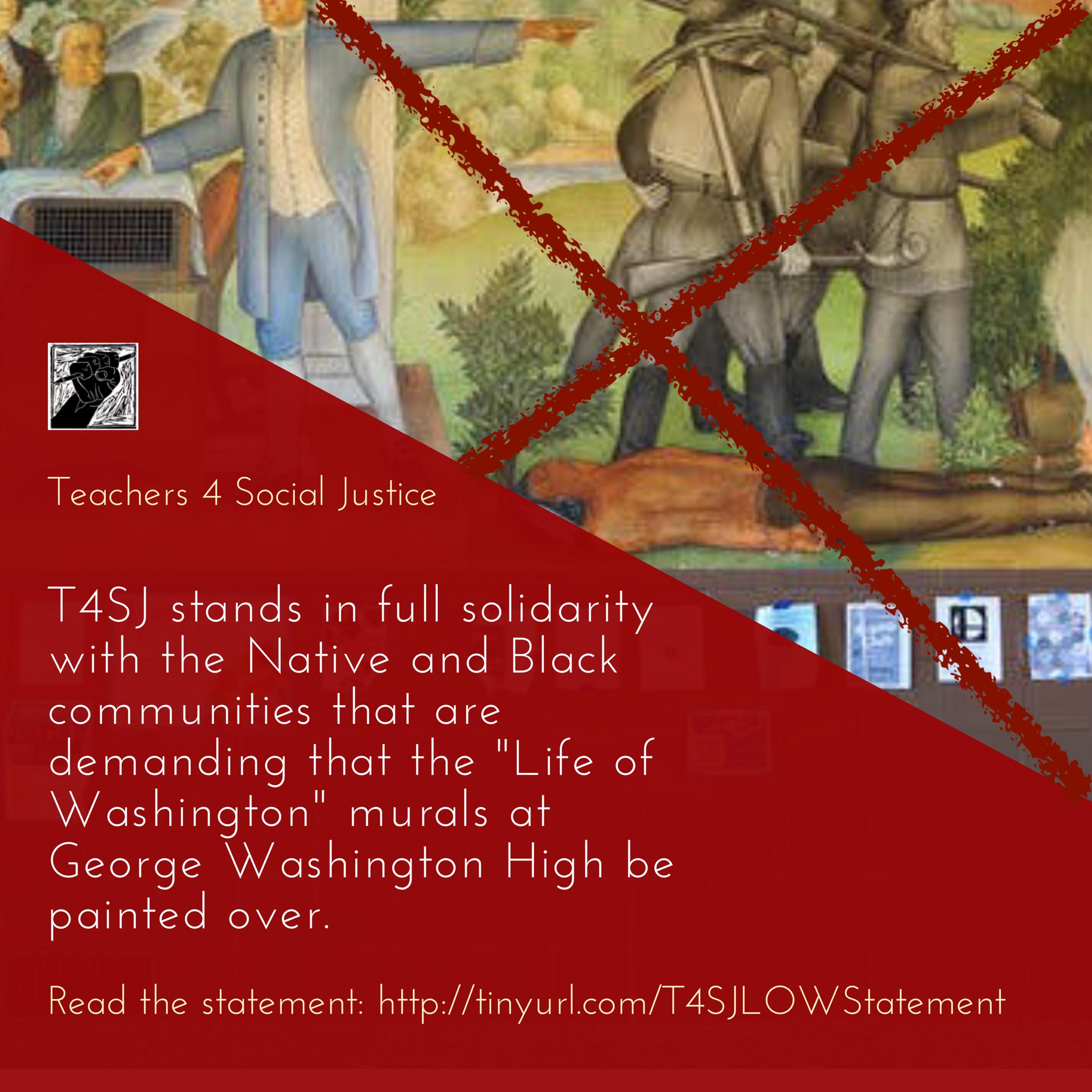 T4SJ -GWHS Murals paint it down